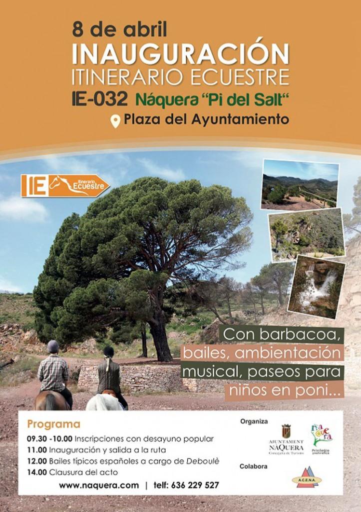 """Inauguración del Itinerario Ecuestre IE-032 Náquera """"Pi del Salt"""""""