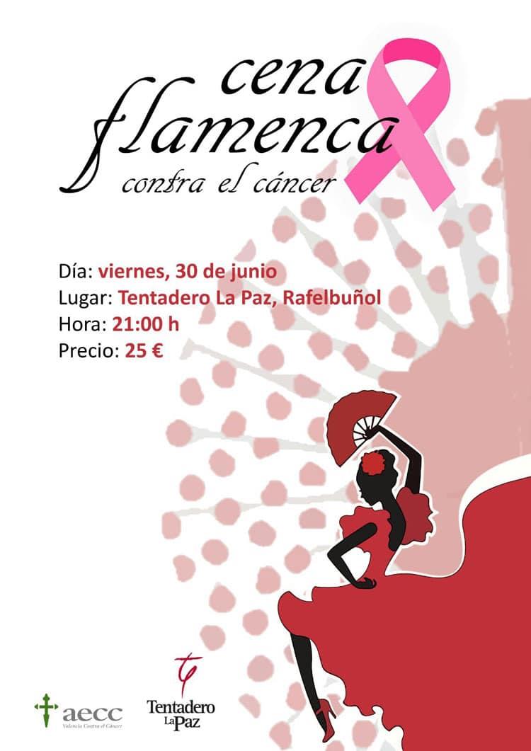Cena flamenca contra el cáncer en colaboración con la AECC